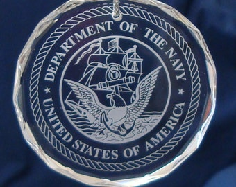 U.S. Navy Ornament/Suncatcher