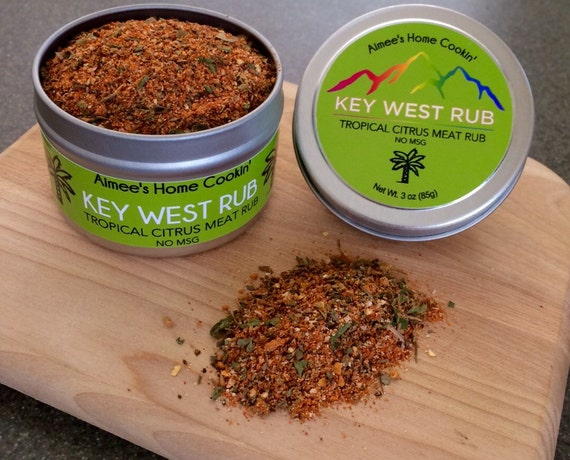 Key west dry rub citrus and savory for fish by for Key west fish and chicken