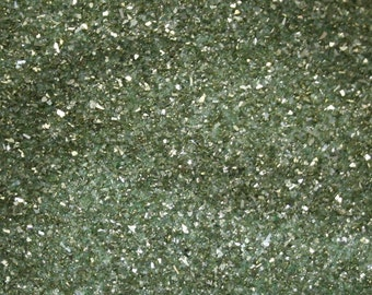 German Glass Glitter - Light Green
