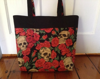 Resting in Roses tote LAST ONE