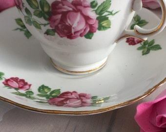 Vintage very rare gladestone bone china tea by for Alpine cuisine fine porcelain