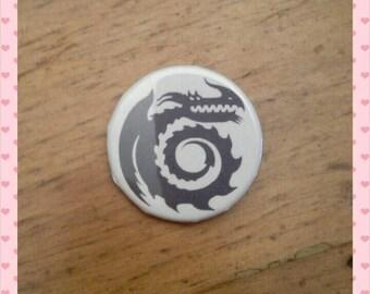 HTTYD - Berk crest - pinback button