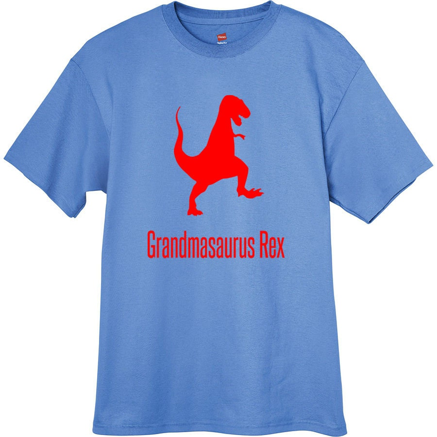 Grandmasaurus rex t shirt personalized mother 39 s day gift for Unique custom t shirts