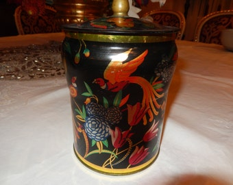 NEW YORK REGAL Crown Tin Can with Lid