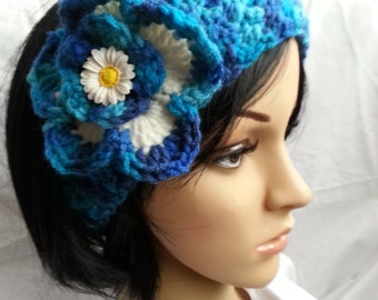 Ear Warmer with Flower