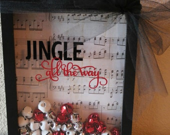 Jingle all the Way Holiday Shadow Box