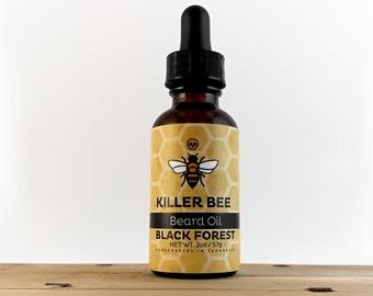 Beard Oil - BLACK FOREST - Beard Care - Beard Grooming - Sandalwood Cedarwood Bergamot Essential Oils - Beard Conditioner - Tame Your Beard