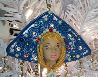 Snow-Maiden (Snegurochka). Christmas Tree Decoration
