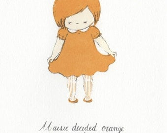 Maisie - Limited Edition Screen Print
