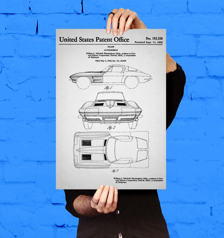 Corvette stingray car poster corvette stingray patent corvette corvette stingray car poster corvette stingray patent corvette stingray blueprint corvette stingray print corvette stingray art malvernweather Images