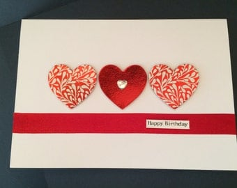 Heart Card (Customised)