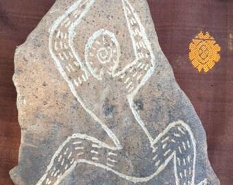 Rain Dancer Garden ART Stone Carving