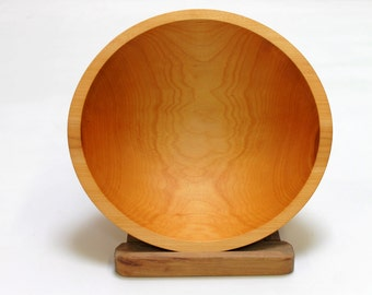 """12"""" Maple Bowl- Bee's Oil Finish"""