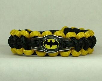 Batman Survival  Paracord Bracelet