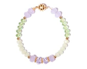 "Bracelet ""Elise"" Collection Paradisio crystal pink pastel"