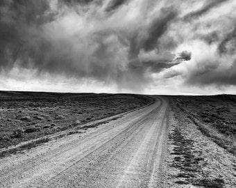 Into Wyoming
