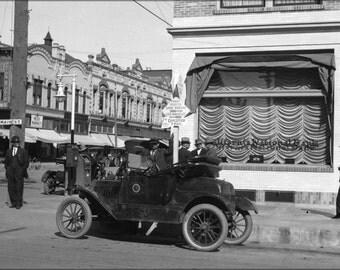 24x36 Poster; Main Street, Los Angeles, 1916 (Aaa Ng 8328)  #031215