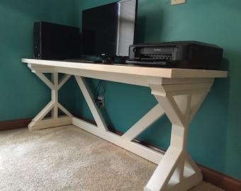 Rustic Computer Desk