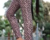 BUY 2 GET 1 FREE Girls leopard leggings animal print girls clothing hot pink leopard fabric cheeta print