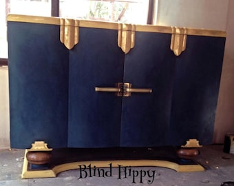 Stunning Upcycled 1920's Sideboard
