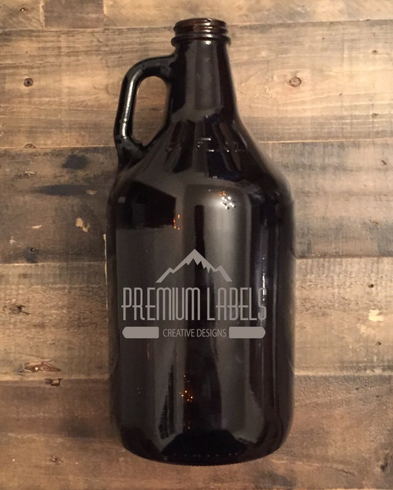 Custom Beer Growler 64oz – Laser Engraved Growler – Groomsman, Birthday, Homebrew, Craft Beer, Cold Brew