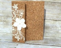 Guest wedding book , rustic wedding, Wine Cork Crafts, Guest Book, Memory Book, Anniversary Book