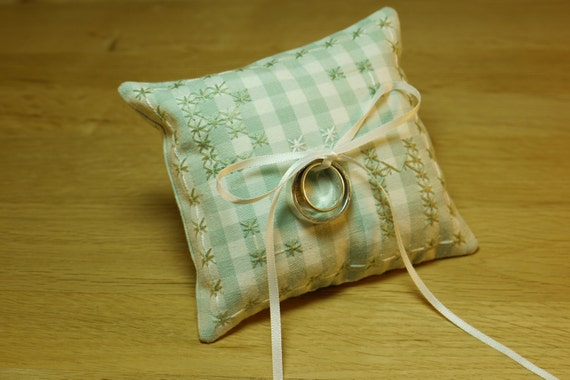 Ring Cushion Sewing Kit Homemade Personalised Gift Or