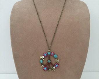 SALE! Peace sign pendant necklace