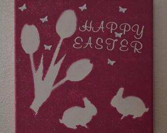 Easter Canvas decor.