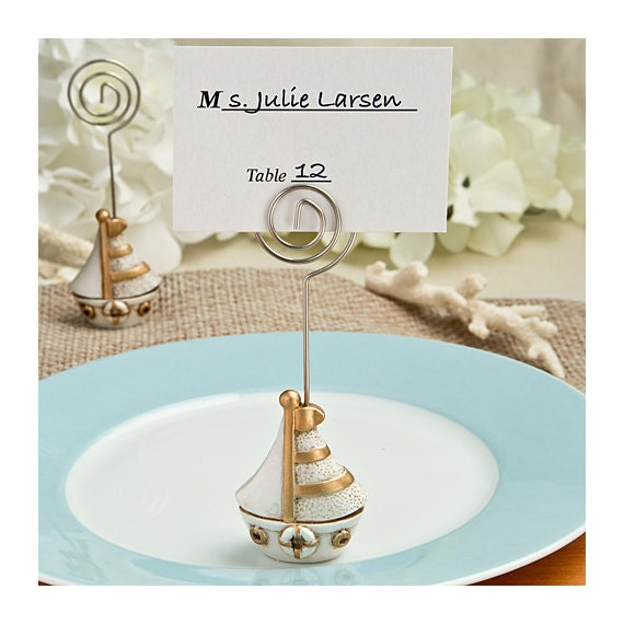 Wedding Gift Card Holder Beach Theme : ... card holder, placecard holder, wedding beach theme, wedding beach