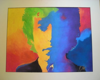 Dylan colorful pastel