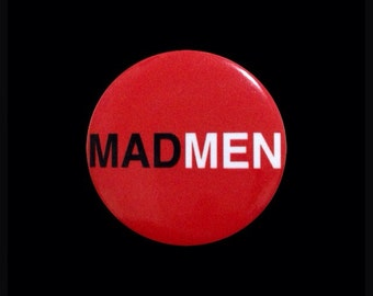 MAD MEN buttons (free shipping!!)