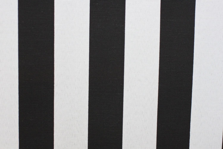 Fabric Black White Stripe Fabric Indoor Outdoor Fabric