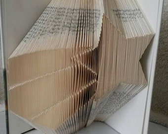 shooting star book folding pattern.