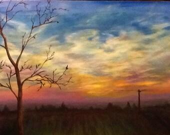 A Natural Peace- Original Landscape Painting