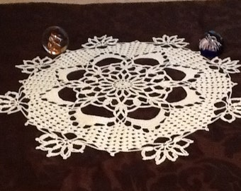 medium crochet doily