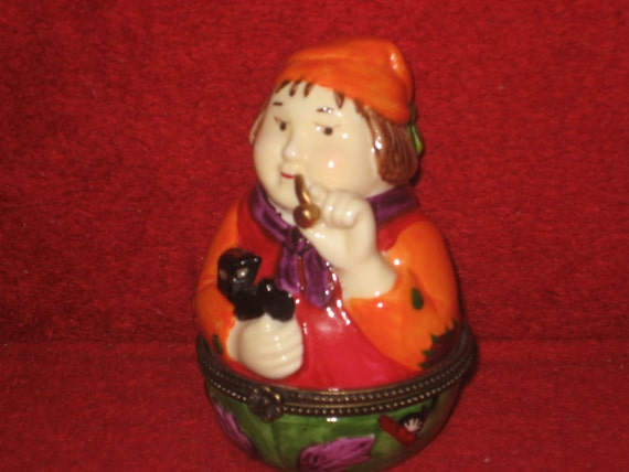 Vintage Villeroy & Boch Christmas Trinket Box