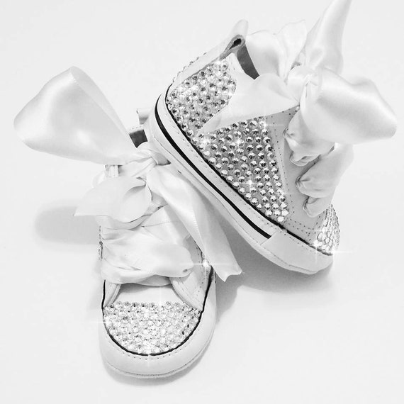 Custom baby converse baby bling converse baby by AllureDesignz