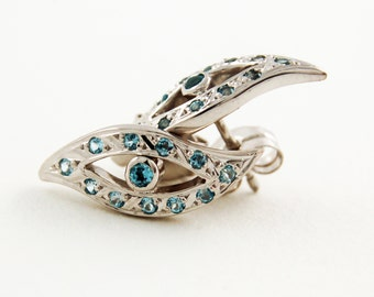 Eyes earrings,sterling silver earringsTturquoise earrings