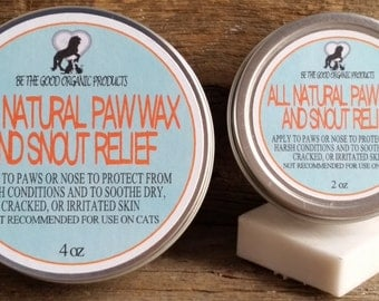 All Natural Paw Wax and Snout Relief