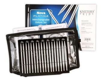 Knitter's Pride Nova Platina Interchangeable Deluxe Circular Needle Set #120601