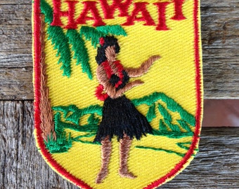 LAST ONE! Hawaii Vintage Souvenir Travel Patch from Voyager