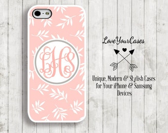 iPhone 6s Case, iPhone 6s Plus Case, iPhone 6 Case, iPhone 6 Plus Case, iPhone 5s Case, iPhone 5c Case, Monogram Phone Case Personalized 901