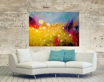 Wild flower original painting