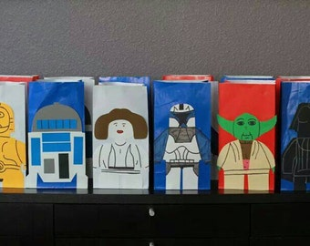 10 inspired Lego Star Wars Party Bags