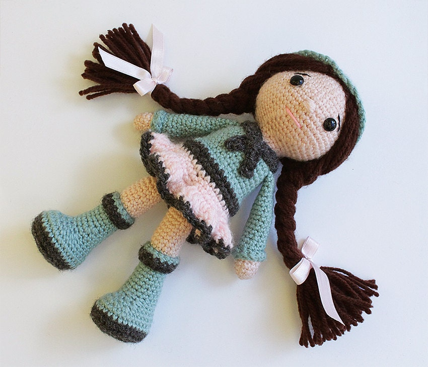 Amigurumi Klesik Doll : PATTERN : Doll Crochet pattern Amigurumi Doll by Anatillea