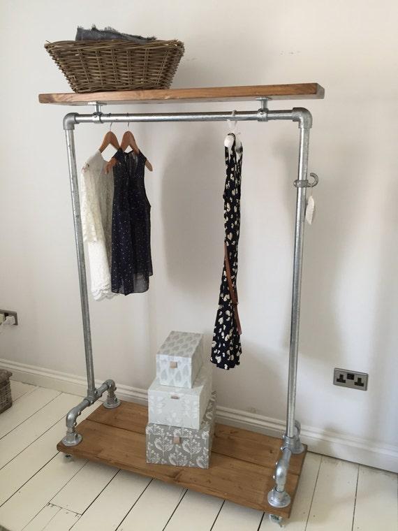 Industrial Looking Clothes Rail / Wardrobe / Shoe Storage