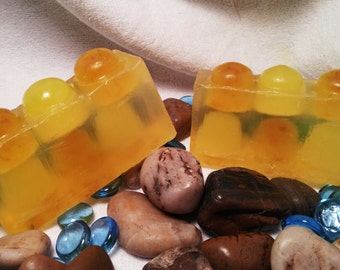 Citrus Sunrise Olive Oil Infused Handmade Soap