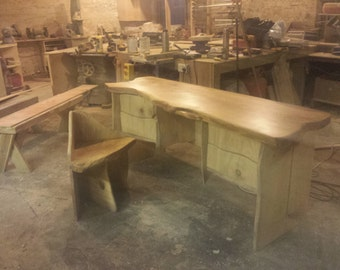 bespoke desk and chair