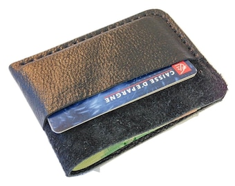 Minimalist Wallet, Slim Wallet, Business Card Holder, Leather Wallet, Men's Wallet, Women's Wallet, Wallet - Biker Style
